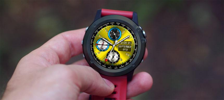 LEMFO LEM9 watch faces