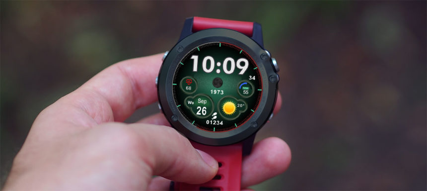RUNDOING R360 watch faces