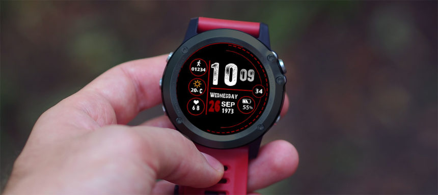 watch with digital face and clock face
