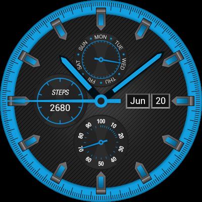 Official Kw88 pro watch face, Clockskin, watchfaceup - ClockSkin