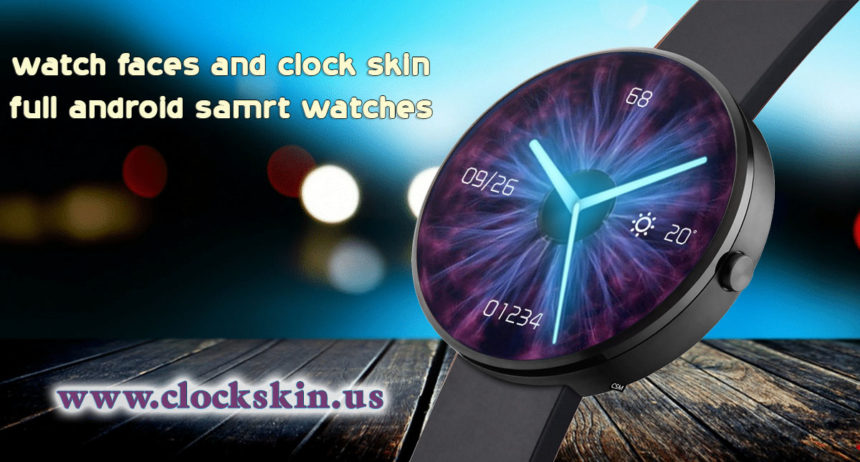 Clock skin android