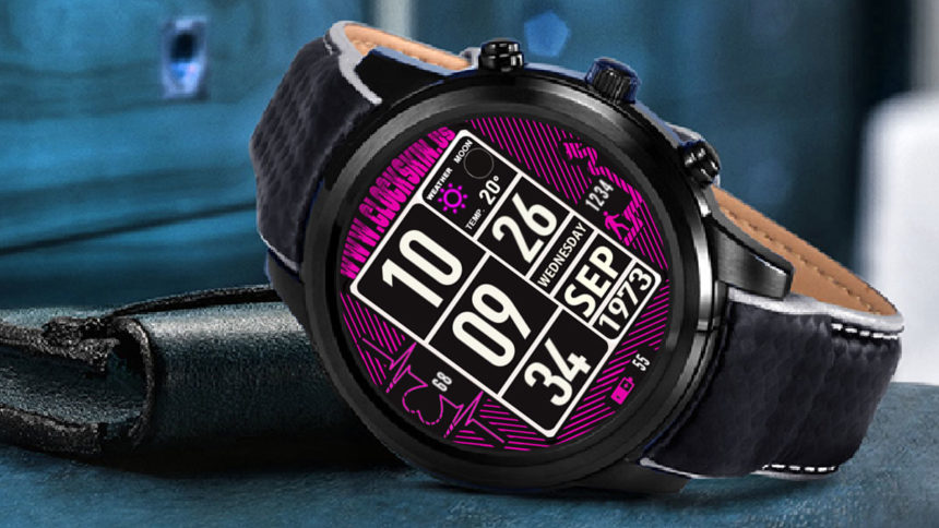 3g smartwatch clockskins