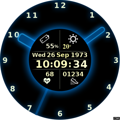 AllCall W2 watch faces