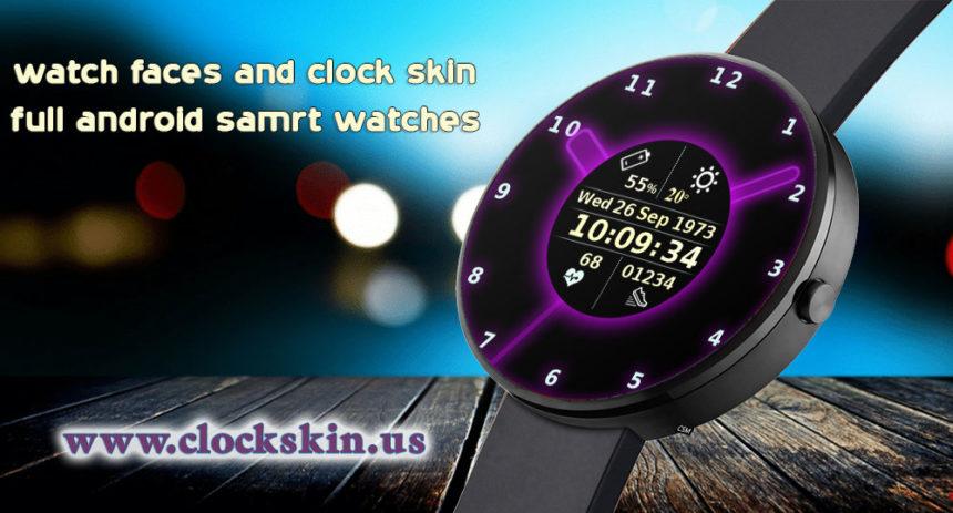 3g smartwatch clock skin