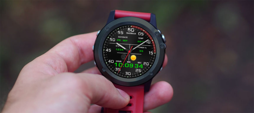 AllCall W2 watchfaces
