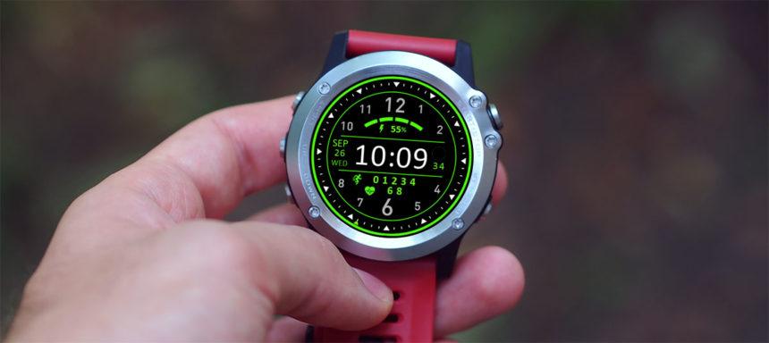 Lemfo LEM8 watch faces