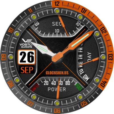 skins download android smartwatch clock free