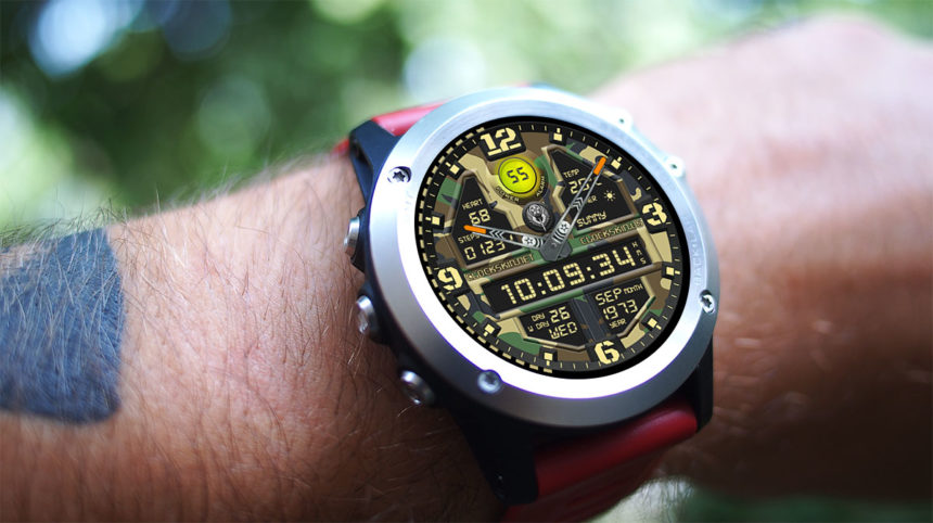 kingwear kw88 pro watch faces