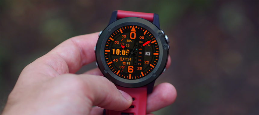 LEMFO LEMX watch faces