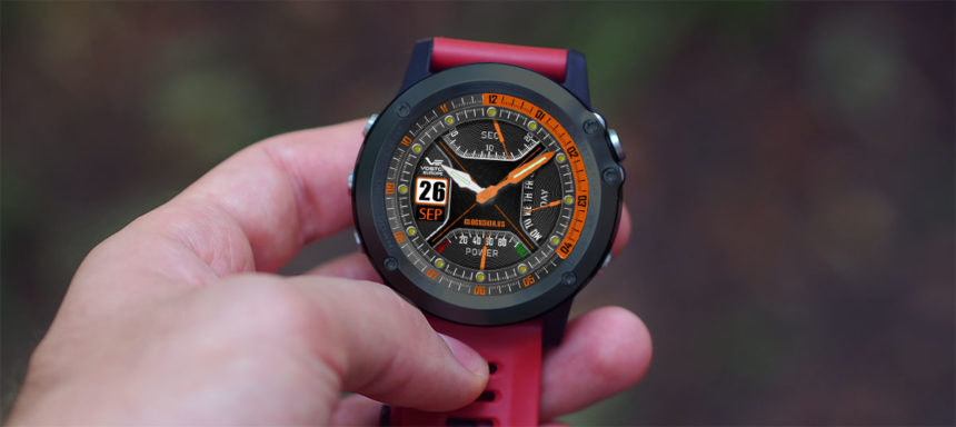 KW68 watch faces