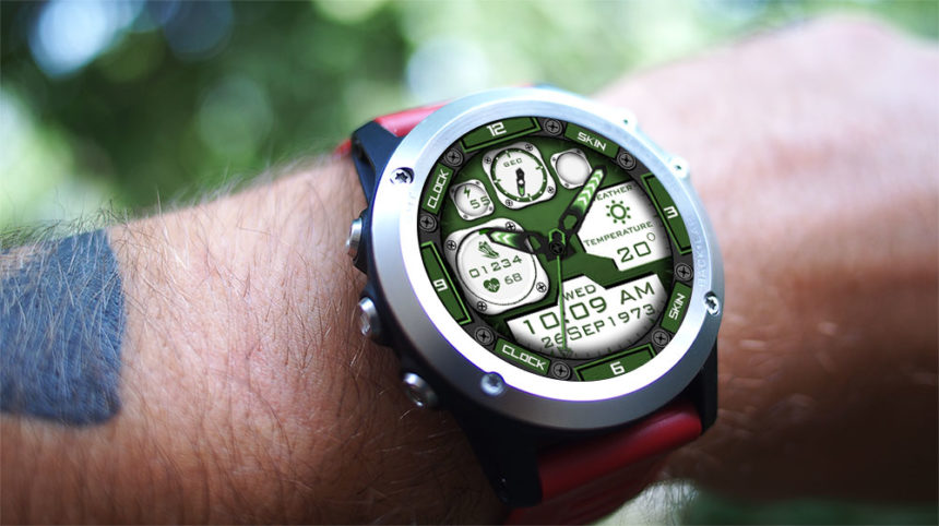 LEMFO LEF3 watch faces