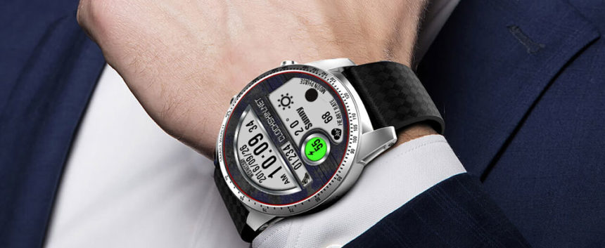 Toptroincs 4G watch faces, clock skin full android smart