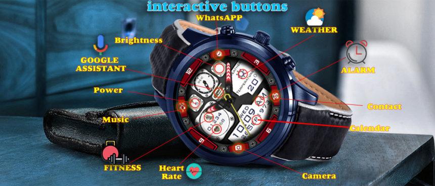 Clickable watch faces