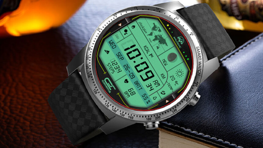 ROGBID BRAVE watch face